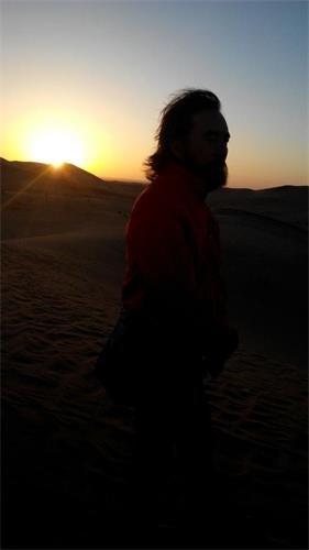 """雪漠:环山路上的十小时(1)——""""从岭南到西部""""之三十二 - 雪漠 -"""