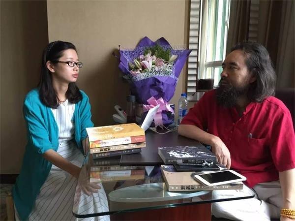 作家雪漠携新书《一个人的西部》接受澎湃网采访 - 雪漠 -