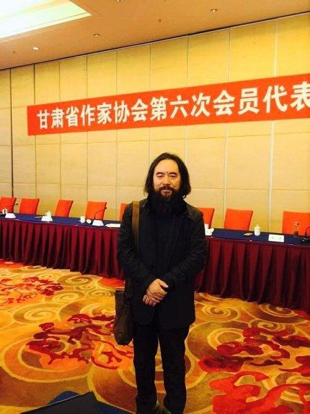 作家雪漠当选第六届甘肃省作家协会副主席 - 雪漠 -